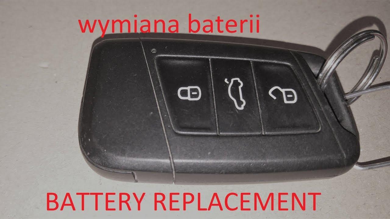 volkswagen golf mk7 key fob battery change youtube. Black Bedroom Furniture Sets. Home Design Ideas
