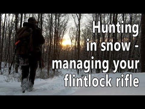Hunting in snow - tuning your flintlock