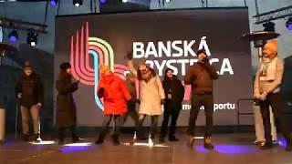 Anastasia Kuzminová, Fragile, námestie SNP Banská Bystrica, Olympijská víťazka 2018, privítanie