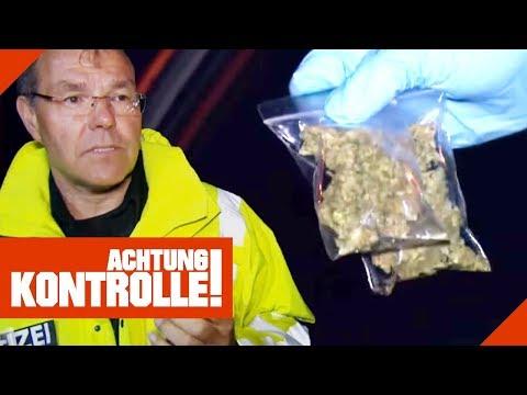 Drogenkontrolle auf der Autobahn! Was findet die Polizei alles?   Achtung Kontrolle   kabel eins