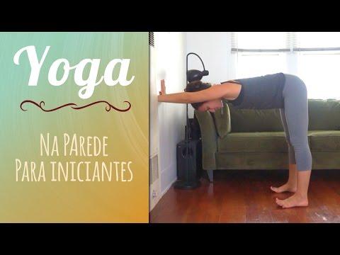 Yoga na Parede para Iniciantes - Pri Leite