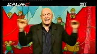 MAURIZIO CROZZA - Ballarò 10/04/2012 - Lo scandalo Lega Nord thumbnail