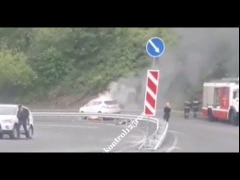 Во Владивостоке на Шефнера сгорел автомобиль