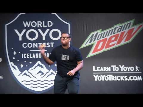 World Yoyo Contest 2017 1A Semi 22th Colin Beckford   film by C3yoyodesign