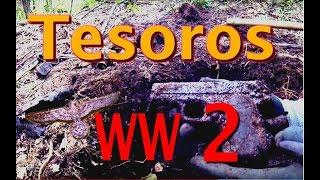 TESOROS de la segunda guerra MUNDIAL con Detector de Metales eurotek pro. Ep. 43