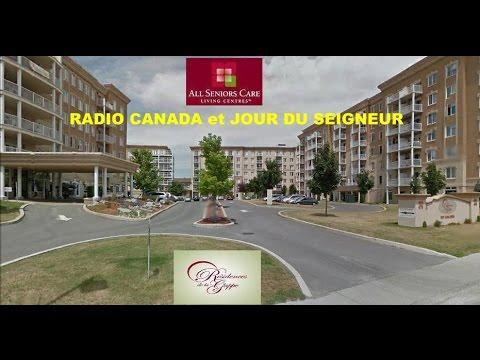 RADIO CANADA et JOUR DU SEIGNEUR a la RESIDENCE DE LA GAPPE