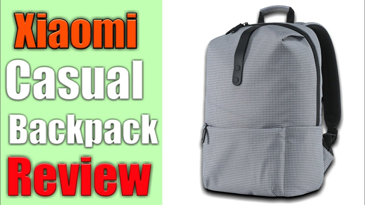 08351a9cf7c1 Mi Casual Backpack Review! - YouTube