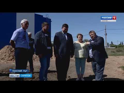 В главной зелёной зоне Красного Кута завершается реконструкция