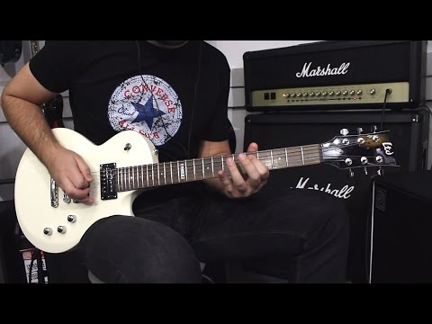 ESP LTD EC-50 WH  - Demo Guitar