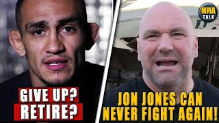Tony Ferguson BREAKS SILENCE after UFC 262 loss, Dana White on Jon Jones' future in the UFC, Jacare