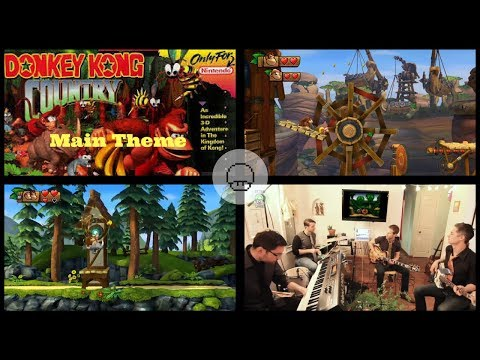 Donkey Kong Country - Main Theme | EXTRA LIVES COVER