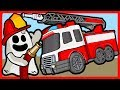 Igo the Friendly Ghost  Assemble Toy Fire Truck Car Cartoons For Kids