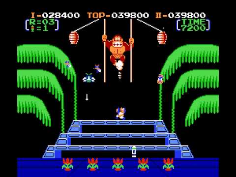 donkey kong 3 nes nes remix netplay tournament davideo7 vs yoshirulez youtube. Black Bedroom Furniture Sets. Home Design Ideas