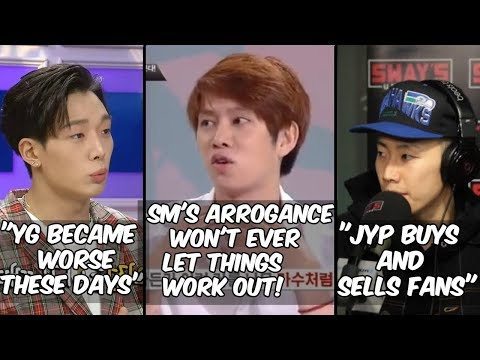 KPOP IDOLS THROWING SHADE AND CRITICIZING THEIR COMPANIES