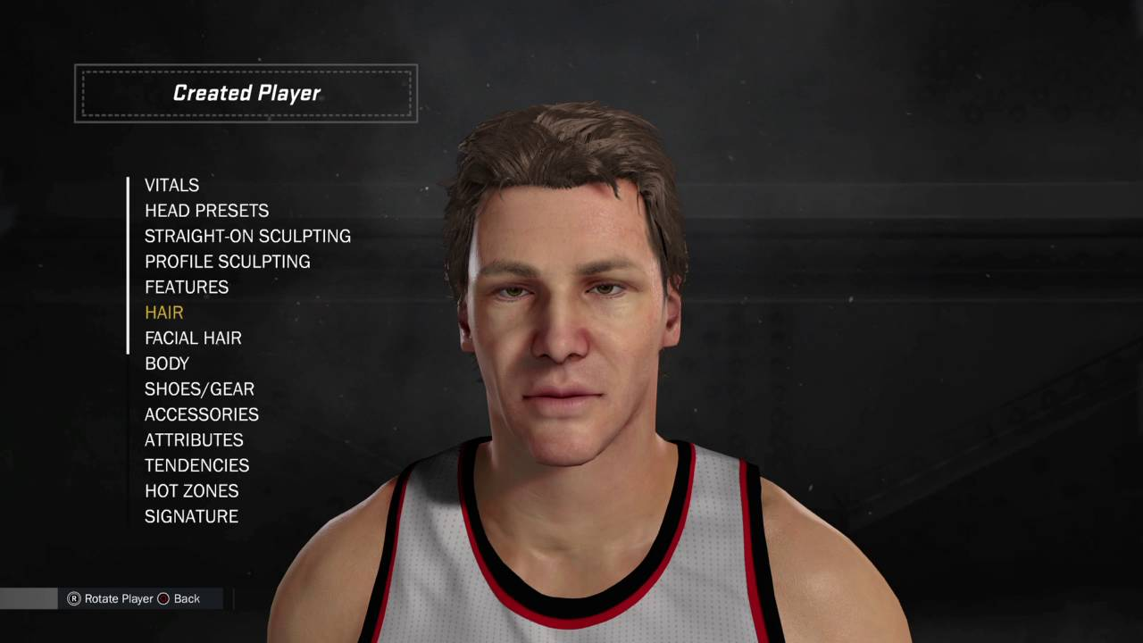 NBA 2K17 Creation Tutorial Tom Chambers