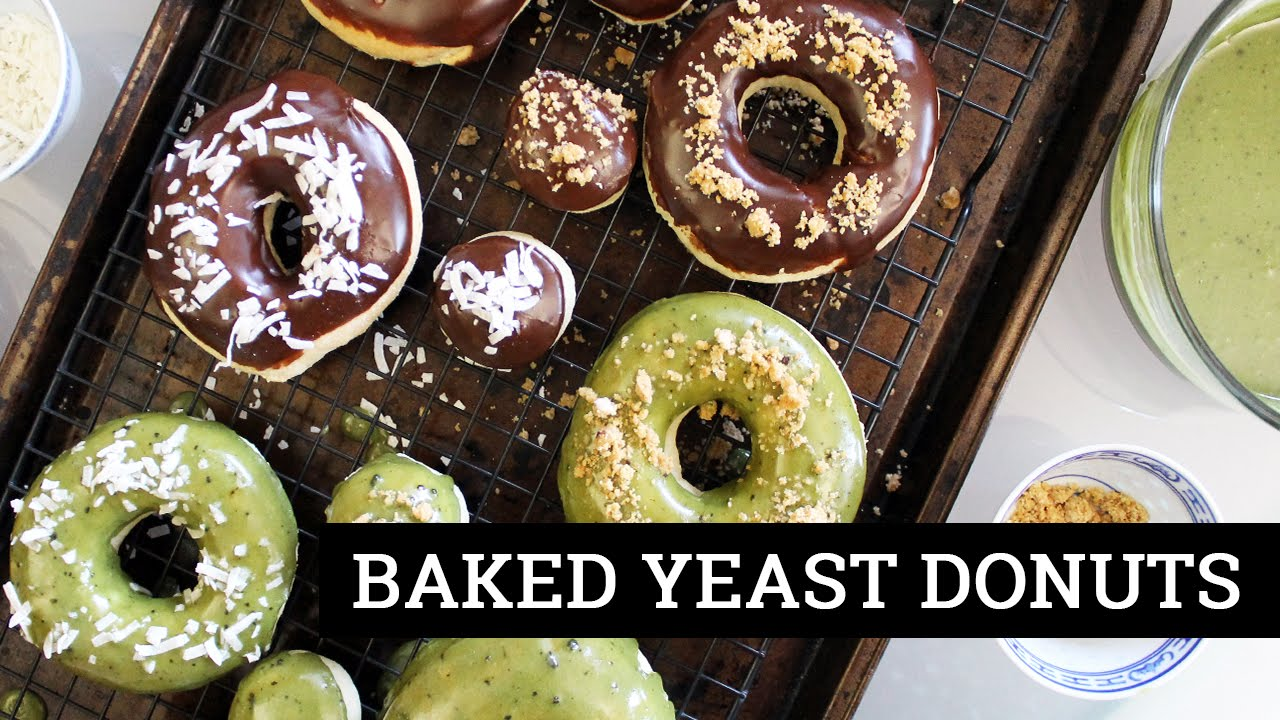 How to make soy flour donuts with self raising