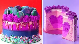 Top 10 Simple Colorful Cake Decorating Recipes  So Yummy Colorful Cake Decorating Ideas