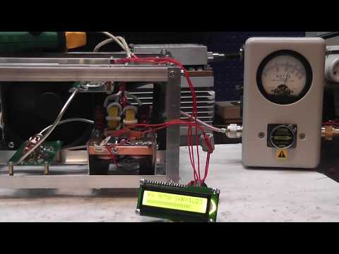 Test power amplifier 144 Mhz 2 m BLF188XR 1000W water coling