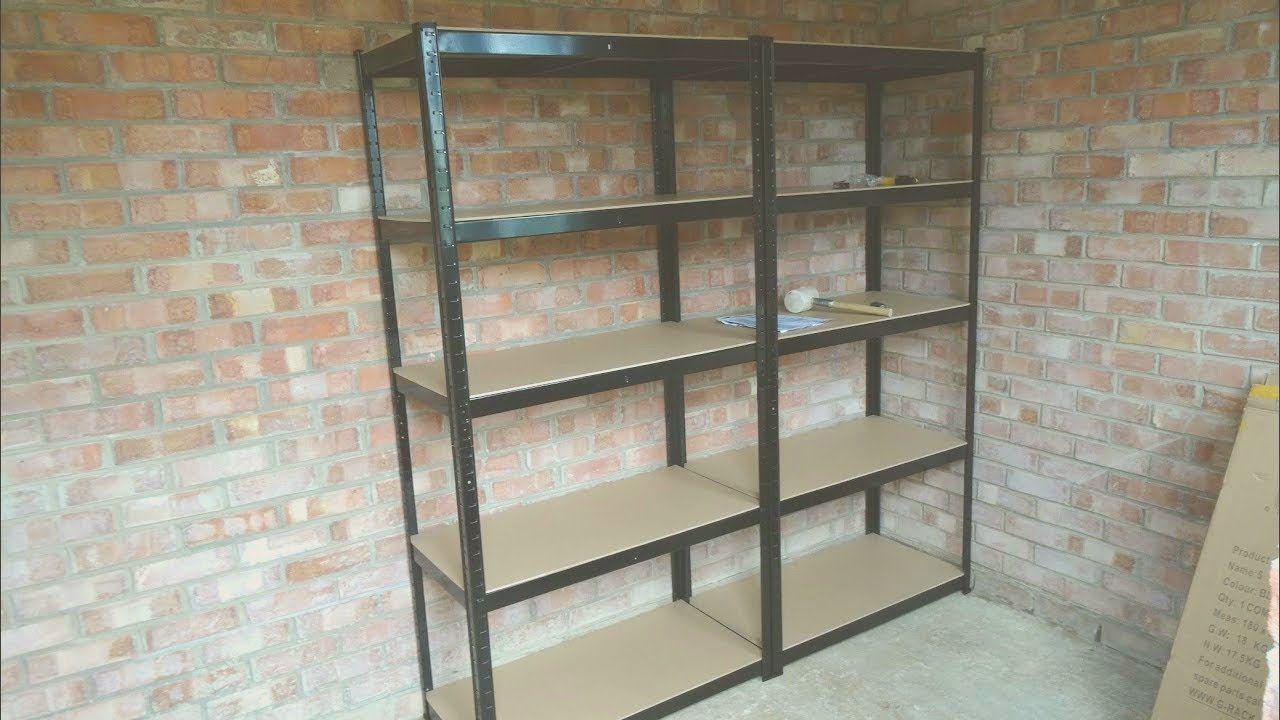 Garage Shelving Units Heavy Duty Shelving Units For A Garage Shed