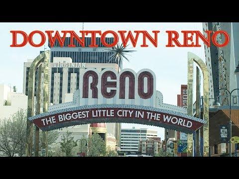 Drive Tour  To Downtown RENO  Nevada