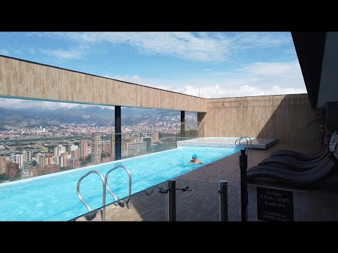 Energy Living apartments with beautiful views | Airbnb | neighborhood walk | Medellin Colombia 🇨🇴