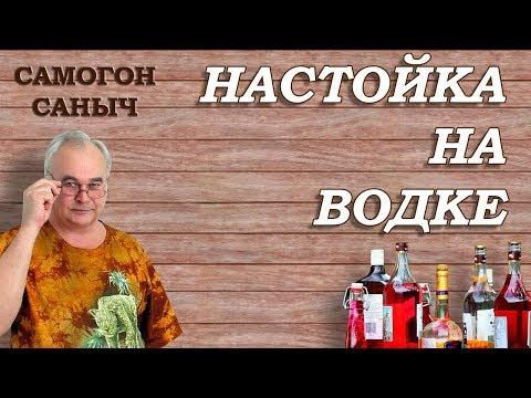 Быстрая домашняя настойка на водке / Рецепты настоек / Самогон Саныч