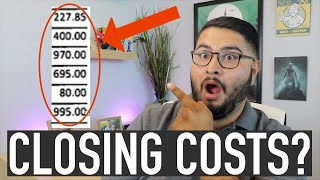 What are Closing Costs When Buying A Home? (Breaking Down a REAL Closing Costs Sheet)