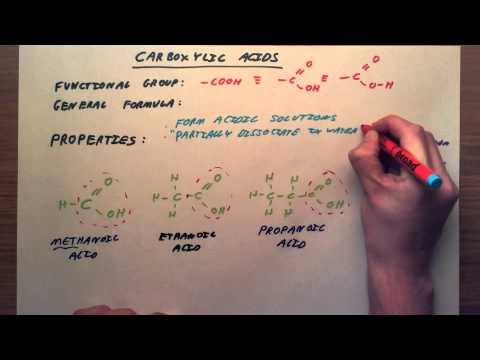 Carboxylic Acids - GCSE Chemistry