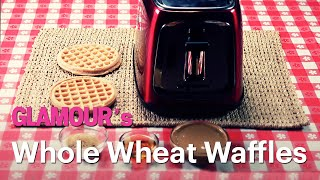 Breakfast Is Served! Must-try Whole Wheat Waffles—glamour's Treat Yourself