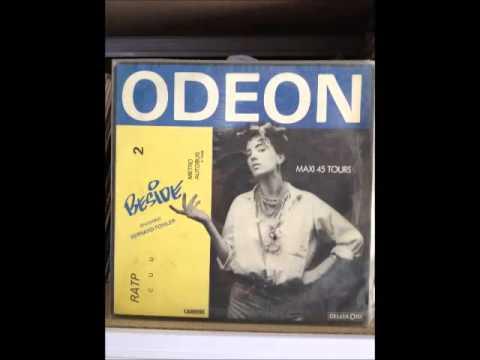 """BESIDE featuring Bernard Fowler - ODEON 12"""" 1984 Vinyl"""