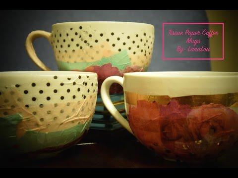 Tissue Paper Coffee Mug