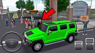 Super High School Bus Driving Simulator 3D 2018 # 6 Android Juego IOS screenshot 1
