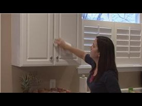 housekeeping tips : how to clean wood kitchen cabinets - youtube