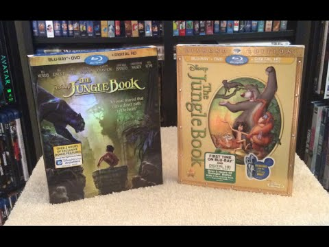 The Jungle Book vs. The Jungle Book Blu Ray Discussion Review