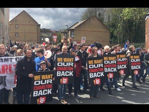 All Charlton Protests vs. Brighton - 23rd April 2016