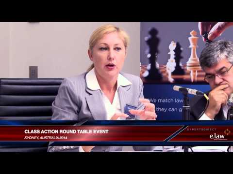 e.law & ExpertsDirect Class Action Round Table - highlights