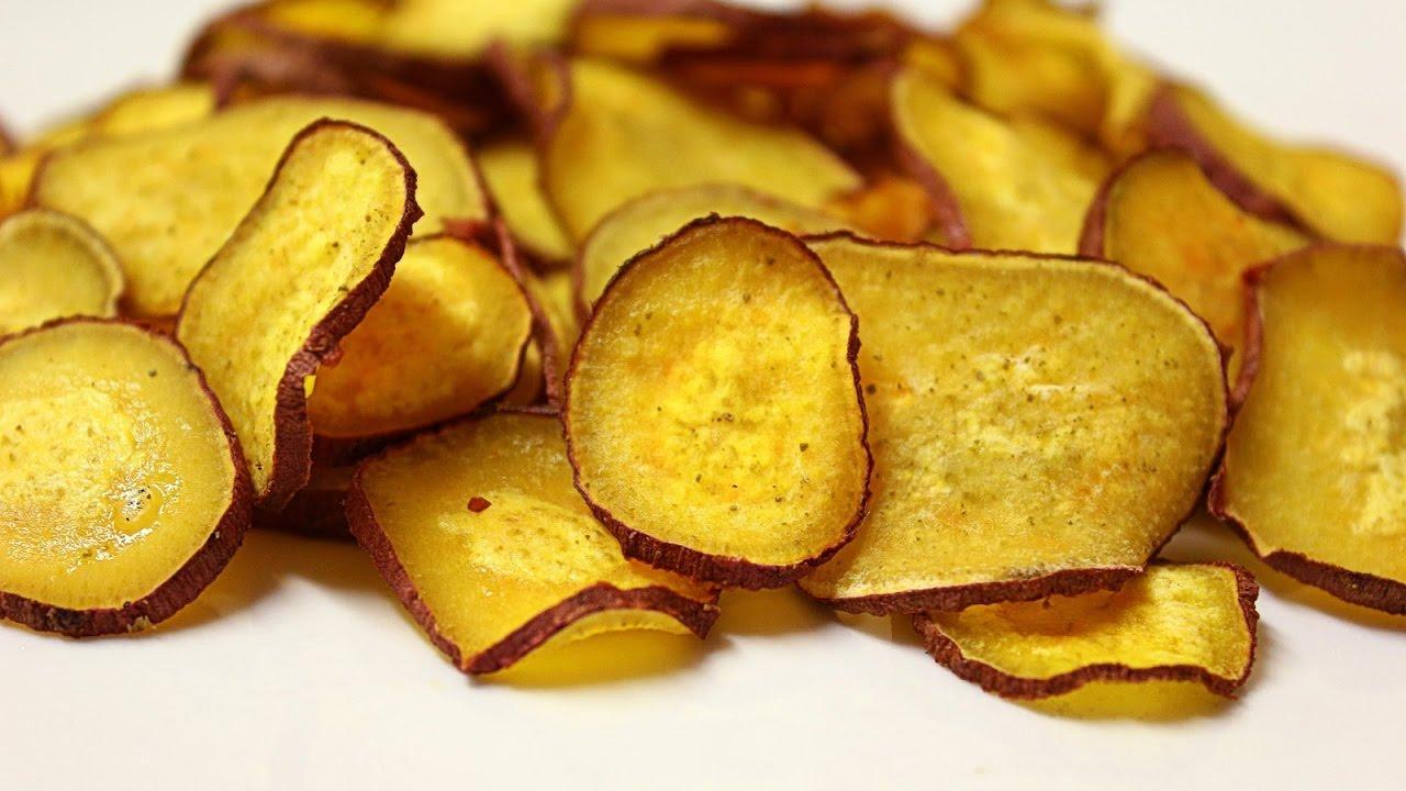 Resultado de imagem para Chips de Batata-doce