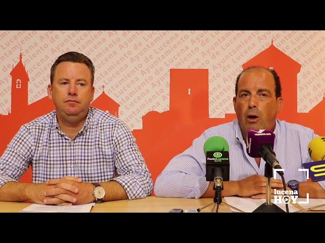 VÍDEO: El PP asegura que los toldos instalados nada tienen que ver con el proyecto presentado a partidos de la oposición y vecinos