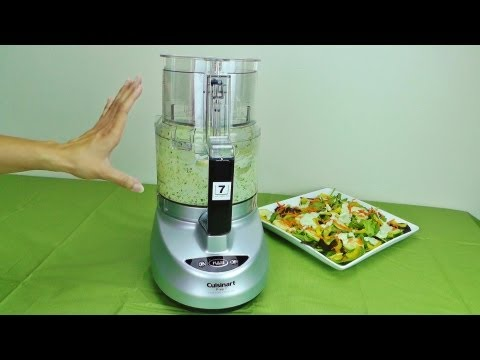 Cuisinart Prep 7 7-Cup Food Processor - DLC-2007N Review and Salad Recipe
