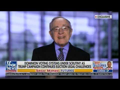 Breaking: Dominion Spokesman Will Be On FOX News at Noon ET - Alan Dershowitz Weighs In