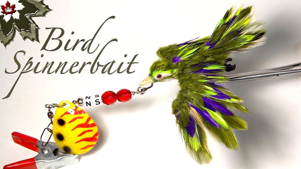 a bird fishing lure - homemade lures by northern scripture - youtube, Hard Baits