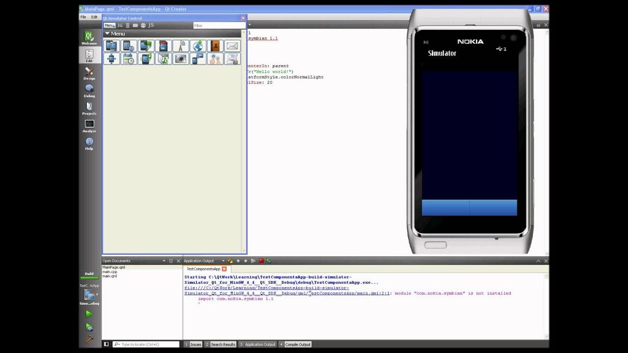 Qt Quick Components - QML module not found message