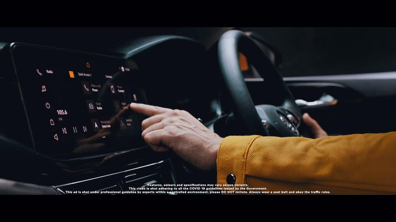 The New ŠKODA KUSHAQ - Infotainment Overview