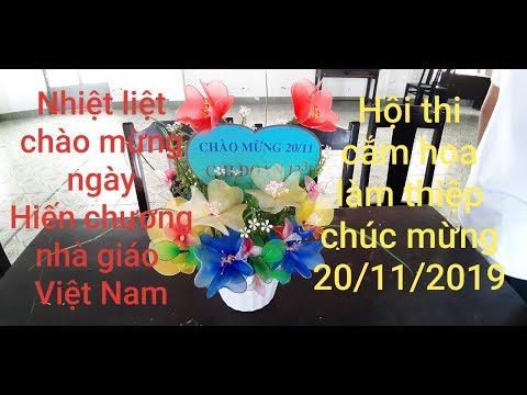 cắm hoa 20-11 ý nghĩa tại kienthuccuatoi.com