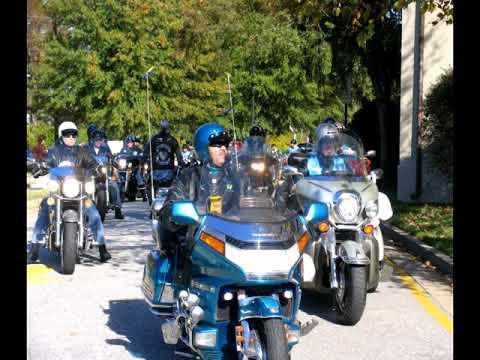 2004 Blue Knights of Virginia 22nd Annual Teddy Bear Run Richmond, VA Video 6