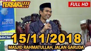 Video Ceramah Terbaru Ustadz Abdul Somad Lc, MA - Masjid Rahmattullah, Jalan Garuda download MP3, 3GP, MP4, WEBM, AVI, FLV November 2018