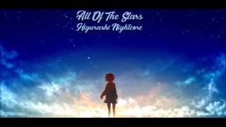 [NIGHTCORE] Ed Sheeran - All of the Stars