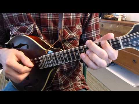 how to play up the neck on the mandolin