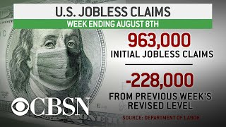 Weekly unemployment claims drop below 1 million for first time since March