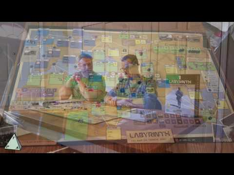 Review: Labyrinth the war on terror by GMT games
